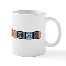 Mommy Alphabet Blocks Mug