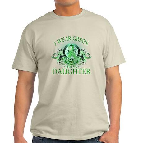 I Wear Green for my Daughter Light T-Shirt