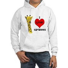 I Love Giraffes! Hoodie
