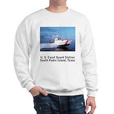 Sweatshirt: USCG Station S. Padre Island