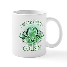 I Wear Green for my Cousin (f Mug