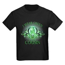 I Wear Green for my Cousin (f T