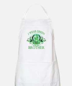 I Wear Green for my Brother ( Apron