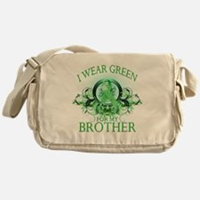 I Wear Green for my Brother ( Messenger Bag
