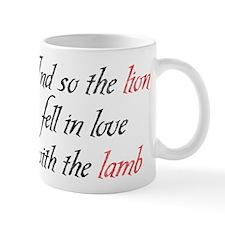 Lion Lamb 2 Mug