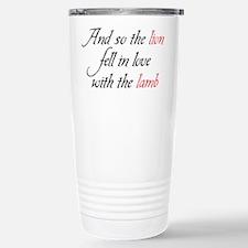 Lion Lamb 2 Travel Mug