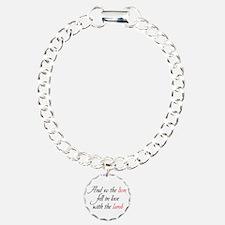 Lion Lamb 2 Charm Bracelet, One Charm