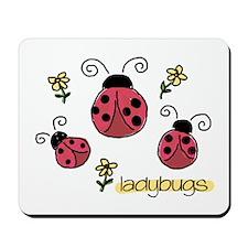 Little Ladybugs Mousepad