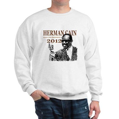 Herman Cain 2012 Sweatshirt