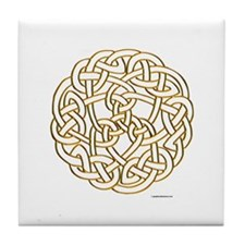 The Celtic Knot Tile Coaster