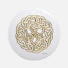 The Celtic Knot Ornament (Round)