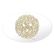 The Celtic Knot Sticker (Oval)