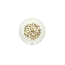 The Celtic Knot Mini Button (10 pack)