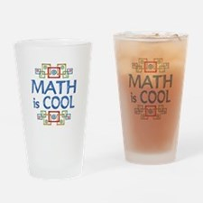 Math is Cool Drinking Glass