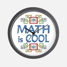 Math is Cool Wall Clock