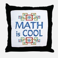 Math is Cool Throw Pillow