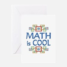 Math is Cool Greeting Card