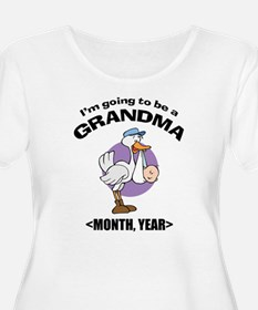 Grandma To Be Personalized T-Shirt