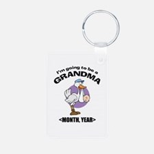 Grandma To Be Personalized Keychains