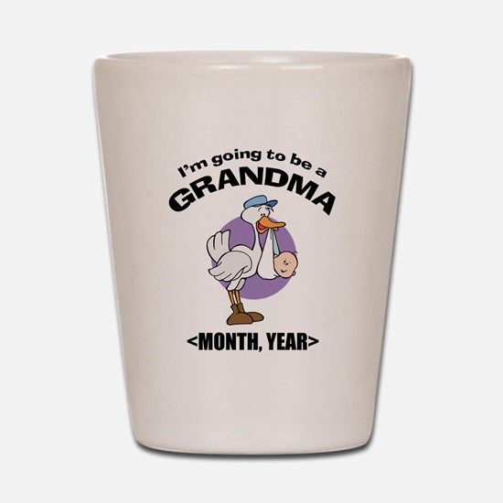 Grandma To Be Personalized Shot Glass