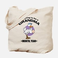 Grandma To Be Personalized Tote Bag