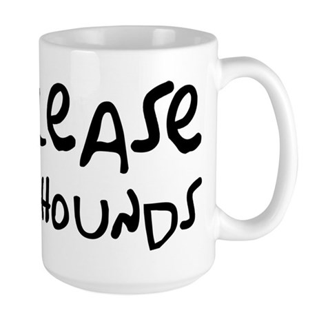 Release The Hounds Large Mug