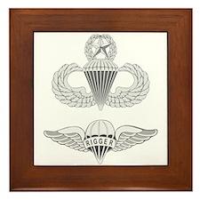 Master Airborne Rigger Framed Tile