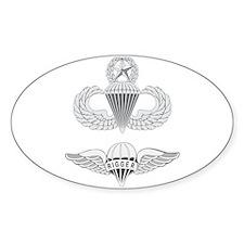 Master Airborne Rigger Bumper Stickers