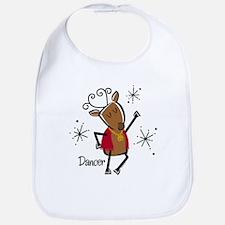 Dancer Reindeer Bib