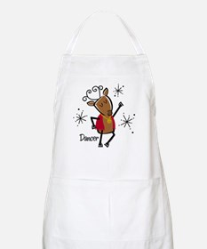 Dancer Reindeer Apron