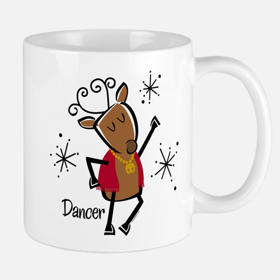 Dancer Reindeer Mug