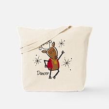 Dancer Reindeer Tote Bag