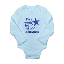A Lot of Awesome Long Sleeve Infant Bodysuit
