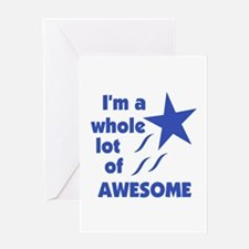 A Lot of Awesome Greeting Card