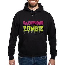 Saxophone Zombie Hoodie