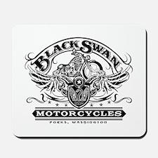 Black Swan Motorcycles Mousepad
