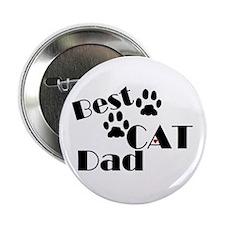 "Best Cat Dad 2.25"" Button (10 pack)"