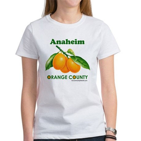Anaheim, Orange County Women's T-Shirt