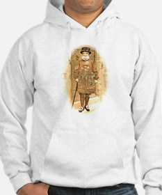 Beefeater, Antique Illustration Hoodie