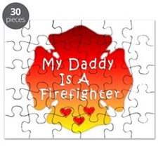 My Daddy Is A Firefighter Puzzle