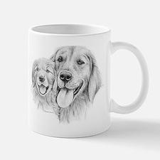 Golden Retrievers Mug