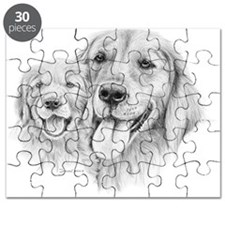 Golden Retrievers Puzzle