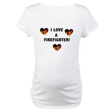I Love a Firefighter Shirt