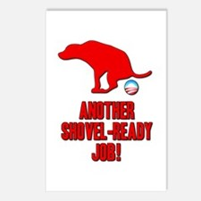 Another Shovel-Ready Job Anti Obama Postcards (Pac