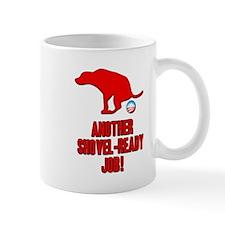 Another Shovel-Ready Job Anti Obama Mug