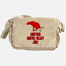 Another Shovel-Ready Job Anti Obama Messenger Bag