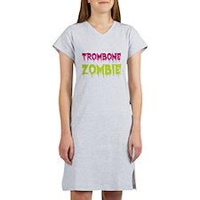 Trombone Zombie Women's Nightshirt
