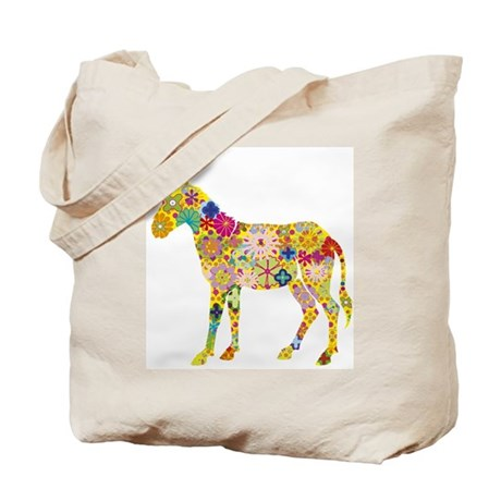 'Pretty Donkey' Tote Bag