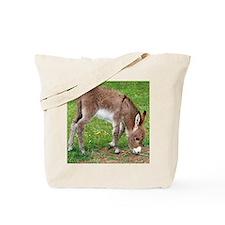 Newborn Donkey Foal Tote Bag