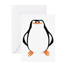 Large Penguin Greeting Card